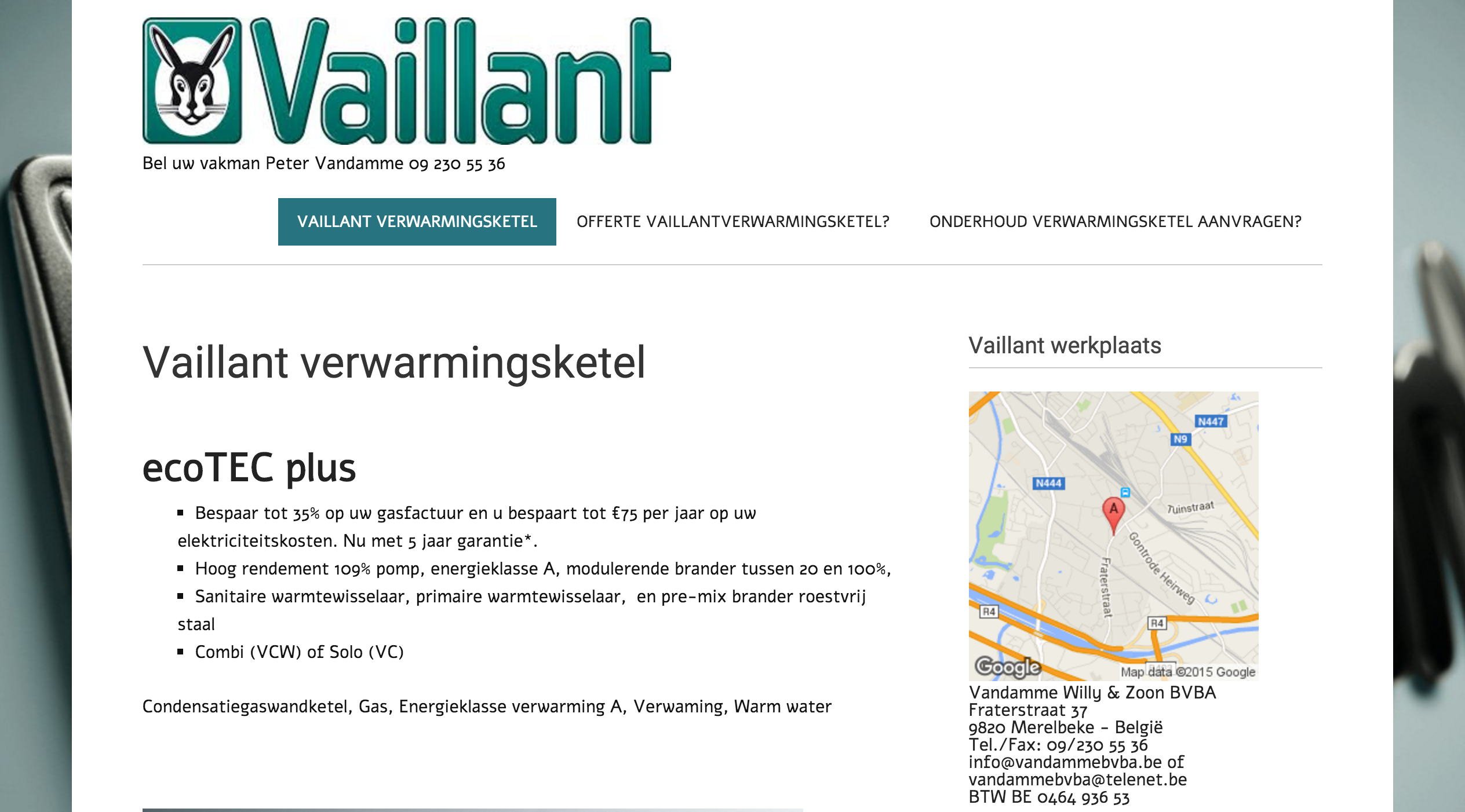 vaillantverwarmingsketel.be